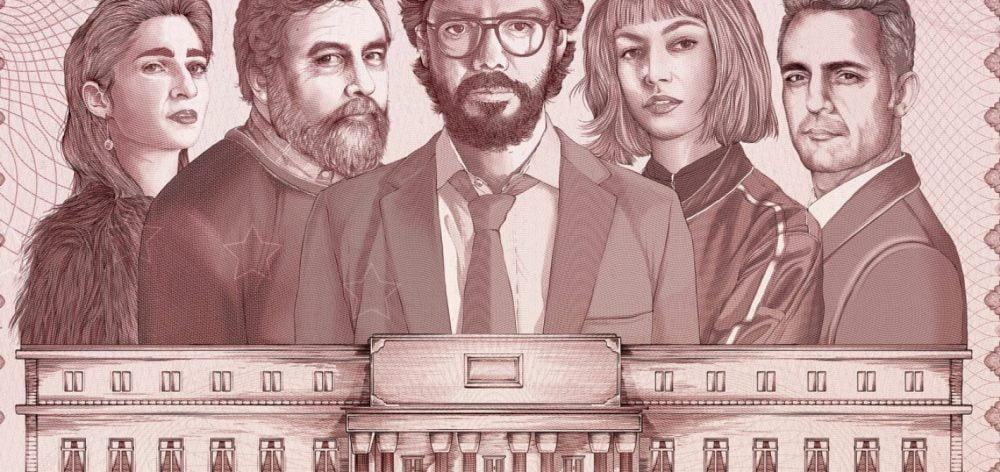 Dom z papieru recenzja serial Netflix