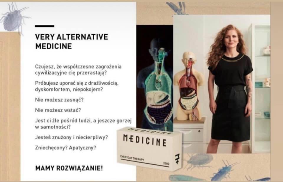 Dorota Masłowska kampania Medicine